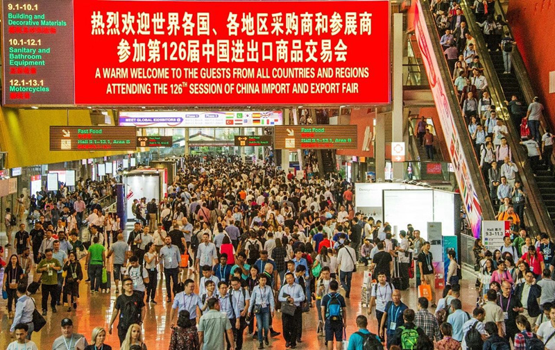 Canton Fair concludes with more export transactions with B&R countries