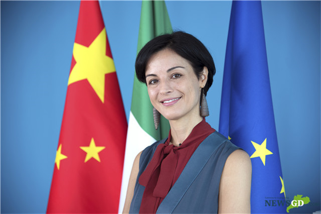 Italian CG in GZ delivers speech on 50th anniversary of China-Italy diplomatic ties