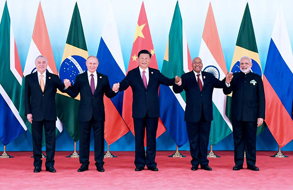 President Xi calls for closer BRICS economic cooperation