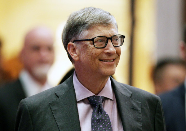 Bill Gates receives China's top engineering honor